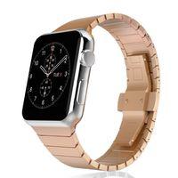 Apple Watch Series SE/6/5/4/3/2/1 Metall Armband 42mm Bracelet  Rosegold