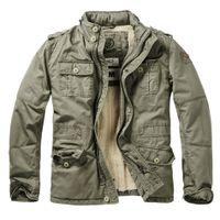 Brandit - Britannia Winter Jacket 9390-1 Olive Outdoor Winterjacke Herren Army  Größe L