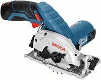 Bosch Professional Akku-Kreissäge GKS 12V-26, mit 2 x 3,0 Ah Li-Ion Akku, L-BOXX - 06016A1005
