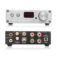 FX-Audio D802C PRO Audio-Leistungsverstärker Drahtloses Bluetooth 4.2 Unterstützt APTX NFC USB / AUX / Optisch / Koaxial Rein Digitaler Audioverstärker 24 Bit 192 kHz