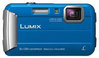 Panasonic Lumix DMC-FT30, 16,1 MP, 4608 x 3456 Pixel, CCD, 4x, HD, Blau