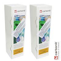 2 x Carbonit GFP Premium D-9 (höherer Durchfluss) Filterpatrone Wasserfilter für u.a. Sanuno Vario