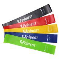 Fitnessbänder 5er-Set Gymnastikbänder aus Naturlatex in 5 Stärken JL1080