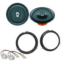 Hertz Dieci DCX 165.3 Koax Lautsprecher Einbauset für Ford Transit V363 ab 2014