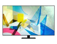 Samsung 65Q80T 65 Zoll (163cm) UHD 4K 3800PQI Flat QLED Smart TV Triple Twin Tuner, Silber