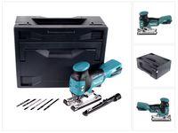 Makita DJV 181 ZX Akku Pendelhubstichsäge 18V Brushless + 6x Holzsägeblätter + Makbox - ohne Akku, ohne Ladegerät