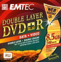 Emtec Dvd+r 8.5GB DVD+R, 8,5 GB
