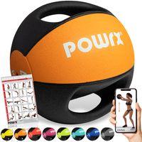 Medizinball Bunt versch. Gewichte mit 2 Handgriffen Studioqualität Gewicht: 4 kg