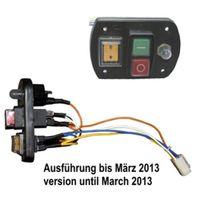 ATIKA Ersatzteil Ein-Aus-Schalter (bis 03/13) für Gartenhäcksler ALF 2600