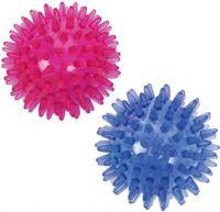 Massageball / Igelball / Noppenball 7cm Durchmesser  / hart / 2er Set