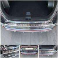 Edelstahl Ladekantenschutz für Hyundai Tucson 3  ab Bj. 2021-, Farbe:Silber