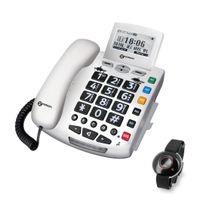 Geemarc SERENITIES Notruftelefon mit Notsender - Deutsche Version