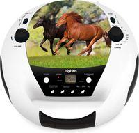 BigBen Interactive CD52 Radio-Recorder, CD-Player mit USB