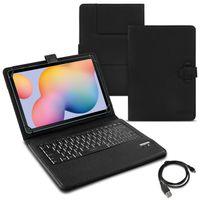 Tablet Tasche Samsung Galaxy Tab S6 Lite Tastatur Bluetooth QWERTZ Schutzhülle