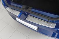 Ladekantenschutz mit Abkantung für Dacia Sandero 3 Edelstahl ab Bj. 2021-, Farbe:Silber