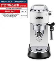 DeLonghi EC685.W Dedica Style Siebträger Espressomaschine Weiß