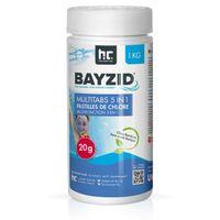 1 x 1 kg BAYZID® Multitabs 20g 5in1 für Pools