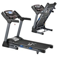 Artsport Laufband Speedrunner 6000 klappbar - 22 km/h & 99 Programme, LCD Display – Heimtrainer elektrisch 150 kg belastbar -Fitnessgerät 3 PS Motor
