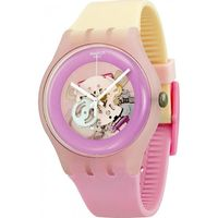 Swatch SUOP101 Uni-Armbanduhr, Kunststoff-Gehäuse
