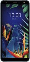 LG K40 aurora black, Farbe:Blau