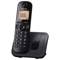 Panasonic KX-TGC210, DECT-Telefon, Freisprecheinrichtung, Anrufer-Identifikation, Schwarz