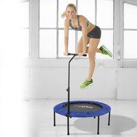 Fitness Mini Trampolin Sport Indoor faltbar Jumping Stange Griff
