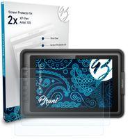 Bruni Basics-Clear 2x Schutzfolie kompatibel mit XP-Pen Artist 10S Folie