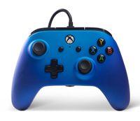 PowerA ENHANCED WIRED Controller Extra Tasten Xbox One Windows 10 Sapphire Sade