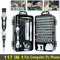 117 in 1 Feinmechaniker Schraubendreher Set mini Werkzeug Set für Handys Elektronische DIY-Modelle,Uhr, Laptop