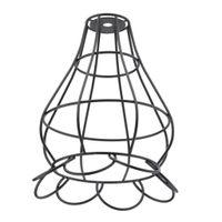 Vintage Eisen Draht Lampenschirm mit E27 Fassung für Deckenleuchte