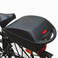 FISCHER Fahrrad Gepäckbox abschließbar Volumen: 11 Liter schwarz (ohne Inhalt)