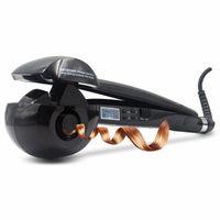 Automatische Lockenwickler Heizung Haarpflege Styling Werkzeuge CONAIR Curl Geheimnis Keramik Lockenstab Bar Salon Rotierenden Styling Curl (Schwarz)