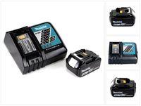 Makita Power Source Kit 18V mit 1x BL1860B Akku 6,0Ah + DC18RC Ladegerät