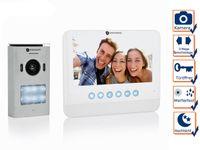 Smartwares DIC-22212 Video-Türeingangskontrolle – 720p HD – 7 Zoll LCD-Monitor