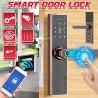 ELEGTANT Smart Türschloss App Version Tastaturkarte Fingerabdruck Passwort Touch Sicherhe Elektronisches Türschloss