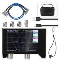4,0-Zoll-Bildschirm 3G-Vektor-Netzwerkanalysator SAA-2N NanoVNA V2-Antennenanalysator Kurzwellen-HF-UKW-UHF mit Eisengehaeuse