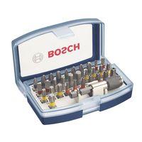 BOSCH Bit-Set 32 tlg inkl Bit-Halter BLAU 2607017359