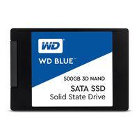 """WD Blue 3D - 2048 GB - 2.5"""" - 560 MB/s - 6 Gbit/s"""
