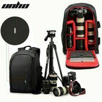 UNHO Kamerarucksack, Profi Fotorucksack, Kameratasche für Canon Nikon SLR DSLR, Regenschutz