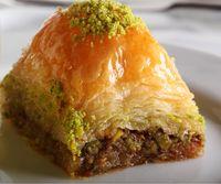GULLUOGLU Baklava mit Pistazien - with pistachios