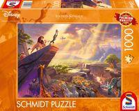Schmidt Spiele Puzzle Thomas Kinkade, Disney, Der König der Löwen, 1000 Teile