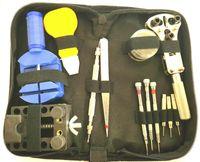 30tlg Uhrenwerkzeug Set Uhrmacherwerkzeug Uhr öffnen Reparatur Werkzeug Armband kürzen