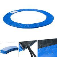 AREBOS Trampolin Randabdeckung Umrandung Randschutz Federabdeckung 305-310 cm blau - direkt vom Hersteller