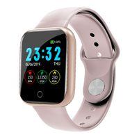 Docooler I5 1,3-Zoll-Bildschirm Smartband IP67 wasserdicht Blutdruck-Herzfrequenz-Überwachung Farbe: Rosa