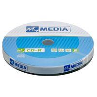 1x10 MyMedia CD-R 80 / 700MB 52x Speed Wrap