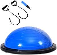 GOPLUS Balance Ball Balance Trainer Gleichgewichtstrainer mit Zugbaendern