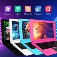 Ultra 10.1 Zoll Laptop Windows 10 Notebook Netbook Computer PC 32GB USB HDMI WIFI Quad Core - Weiß