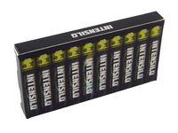 vhbw 10x Mini Batterien Typ AAAA, MN2500, MX2500, LR8D425, LR61 (1x 10er Pack) Alkaline 1.5V