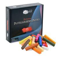 Artina Premium Pastellkreide Softpastellkreide Pasteo, Setgröße:48