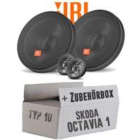 Lautsprecher Boxen JBL 16,5cm System Auto Einbausatz - Einbauset für Skoda Octavia 1 1U Front - justSOUND